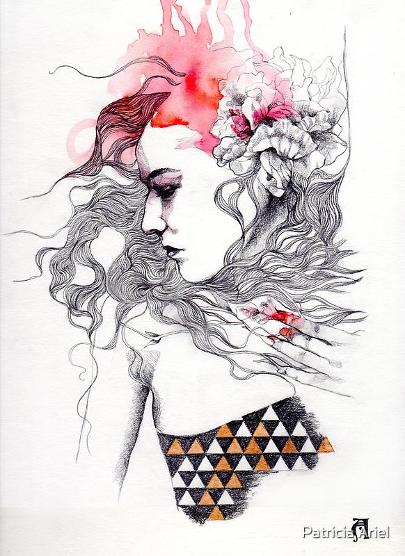 Metamorphosis number two by Patricia Ariel
