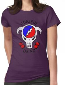 Goatful Dead Womens Fitted T-Shirt
