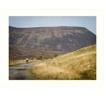 A Highlands Ride Art Print