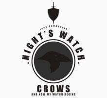 Night's Watch Sports Badge T-Shirt