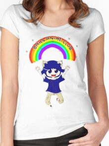 BAHS Anime Club 2011-2012 Women's Fitted Scoop T-Shirt