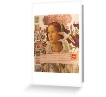 Par Avion Greeting Card