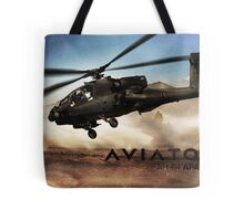 AH-64 Apache Helicopter Tote Bag