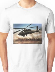 AH-64 Apache Helicopter Unisex T-Shirt