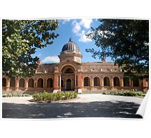 Court House - Goulburn NSW Poster