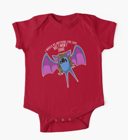PokéPun - 'But I Won't Zubat' One Piece - Short Sleeve