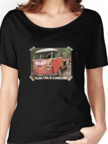 VW Restorer's Mantra - IT'S JUST SURFACE RUST! Women's Relaxed Fit T-Shirt
