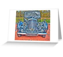 VINTAGE ROLLS ROYCE # 1 Greeting Card