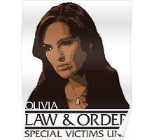 "Olivia ""Liv"" Benson – Special Victims Unit – Law & Order Poster"