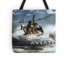 EH-101 Merlin Helicopter Tote Bag