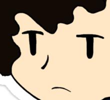 Annoyed Chibi!Sherlock Sticker
