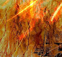 Abstract Inferno .. by Mike  Waldron