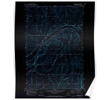 USGS Topo Map Washington State WA Providence 243301 1970 24000 Inverted Poster