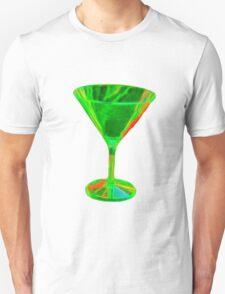 Beautiful green cocktail glass T-Shirt