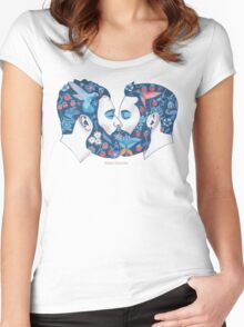 Beards in Love Women's Fitted Scoop T-Shirt