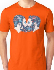 Beards in Love Unisex T-Shirt