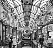Royal Arcade, Melbourne by Vicki Moritz