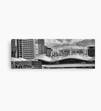Melbourne rooflines- Southern Cross station Canvas Print