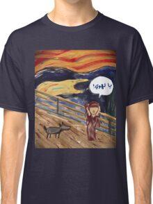 The Scream- Arabic Version Classic T-Shirt