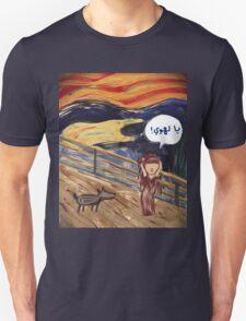 The Scream- Arabic Version Unisex T-Shirt