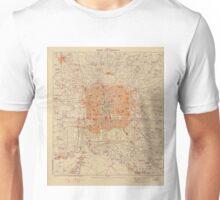 Vintage Map of Beijing China (1907) Unisex T-Shirt