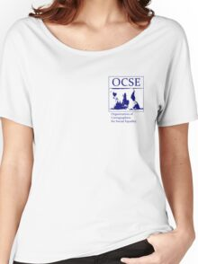 The Organization of Cartographers for Social Equality Women's Relaxed Fit T-Shirt