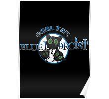 Coal Tar Blue Exorcist Poster
