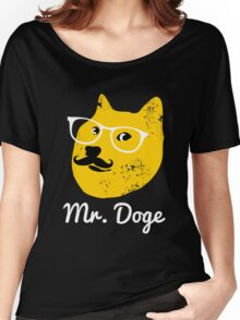 Mr. Dog shiba doge Women's Relaxed Fit T-Shirt