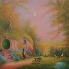 Hobbiton Sam The Gardener by Joe Gilronan
