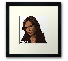 Olivia Special Victims Unit Law Order Framed Print