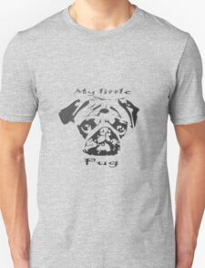 My little Pug Unisex T-Shirt