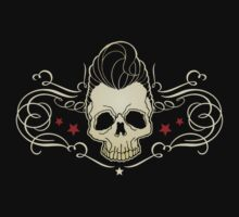 Rockabilly Skull by luckydevil