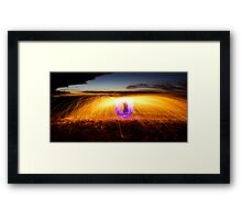 Dome Of Fire  Framed Print