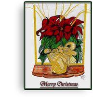 Merry Christmas, Redbubble Community Canvas Print