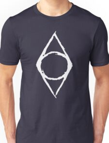 Thieves Guild Shadowmark (white) Unisex T-Shirt