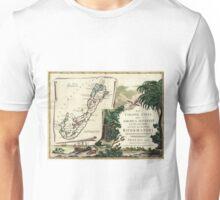 Vintage Map of Bermuda (1778) Unisex T-Shirt