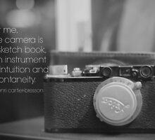 Camera Henri Cartier-Bresson by Kimberose