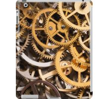 Mix of various gears, abstract technology background iPad Case/Skin