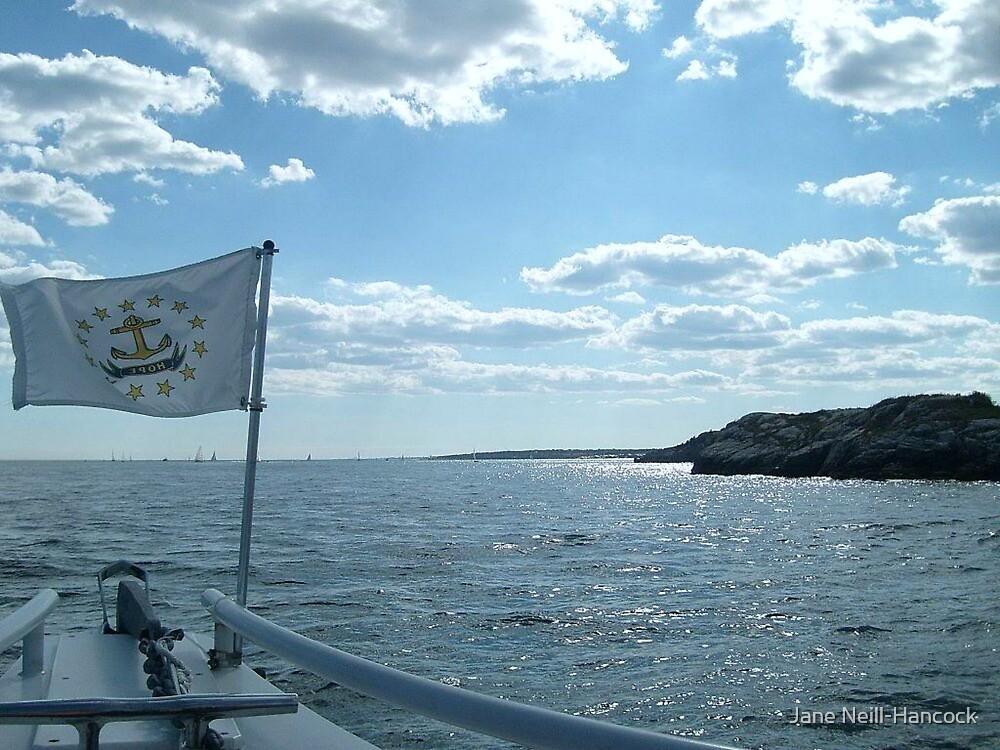 Sailing on Narragansett Bay by Jane Neill-Hancock