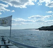 Sailing on Narragansett Bay by Jane Neill-Hancock