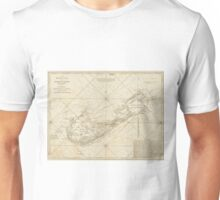 Vintage Map of Bermuda (1788) Unisex T-Shirt