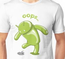 Android Oops Unisex T-Shirt