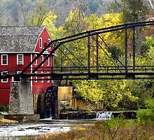 Scenic War Eagle Mills by NatureGreeting Cards ©ccwri