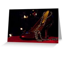 WISHING FOR SOMETHING RED~ Greeting Card