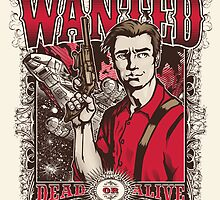 Wanted Print by CoDdesigns