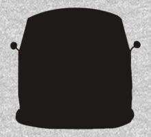 VW Kombi Silhouette 2 Kids Tee