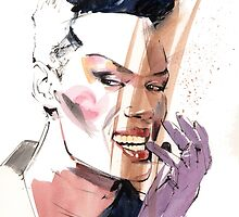 Grace Jones by Gary Wing