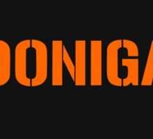 Hoonigan Orange Edition Sticker