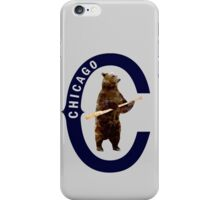 Bear with Bat - Polygonal iPhone Case/Skin