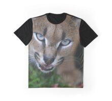 Caracal Lynx feeding Graphic T-Shirt